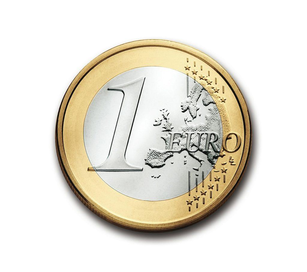 een-euro-op-zijn-kant